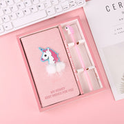 Unicorn Weekly Planner Notebook with Gel Pen