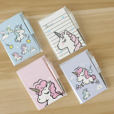 Unicorn Sticky Notes with Pen