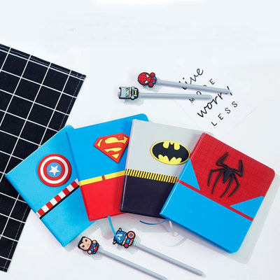 Super Hero Series Notebook with Pen