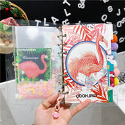 Lovely unicorn & Flamingo Handbook Set