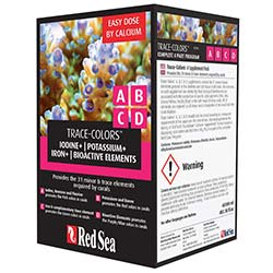 Red Sea Coral Colors ABCD Supplements - 4 Pack