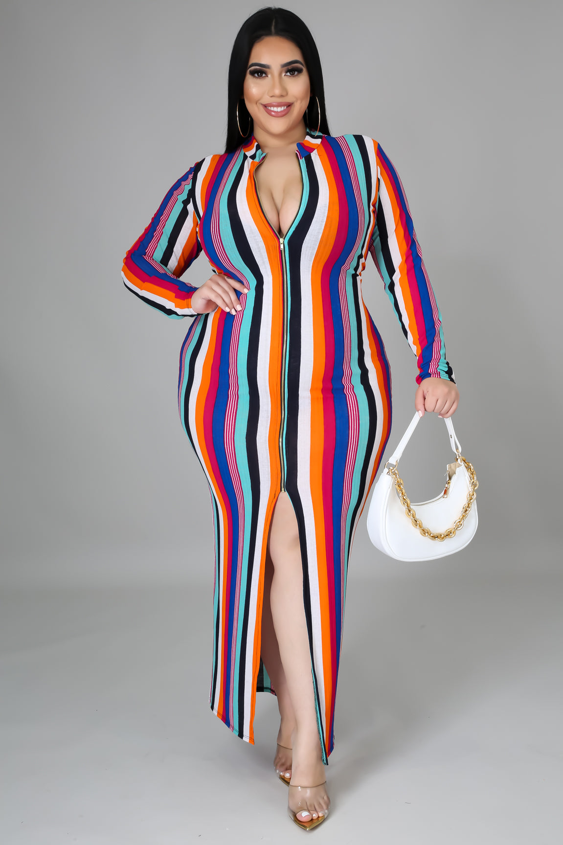 Steffie Striped Dress