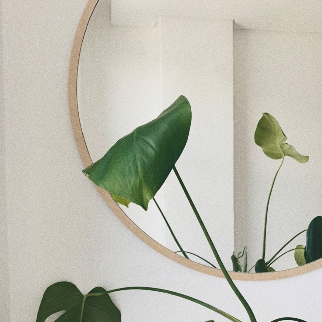 Simple Round Mirror (3 Sizes)