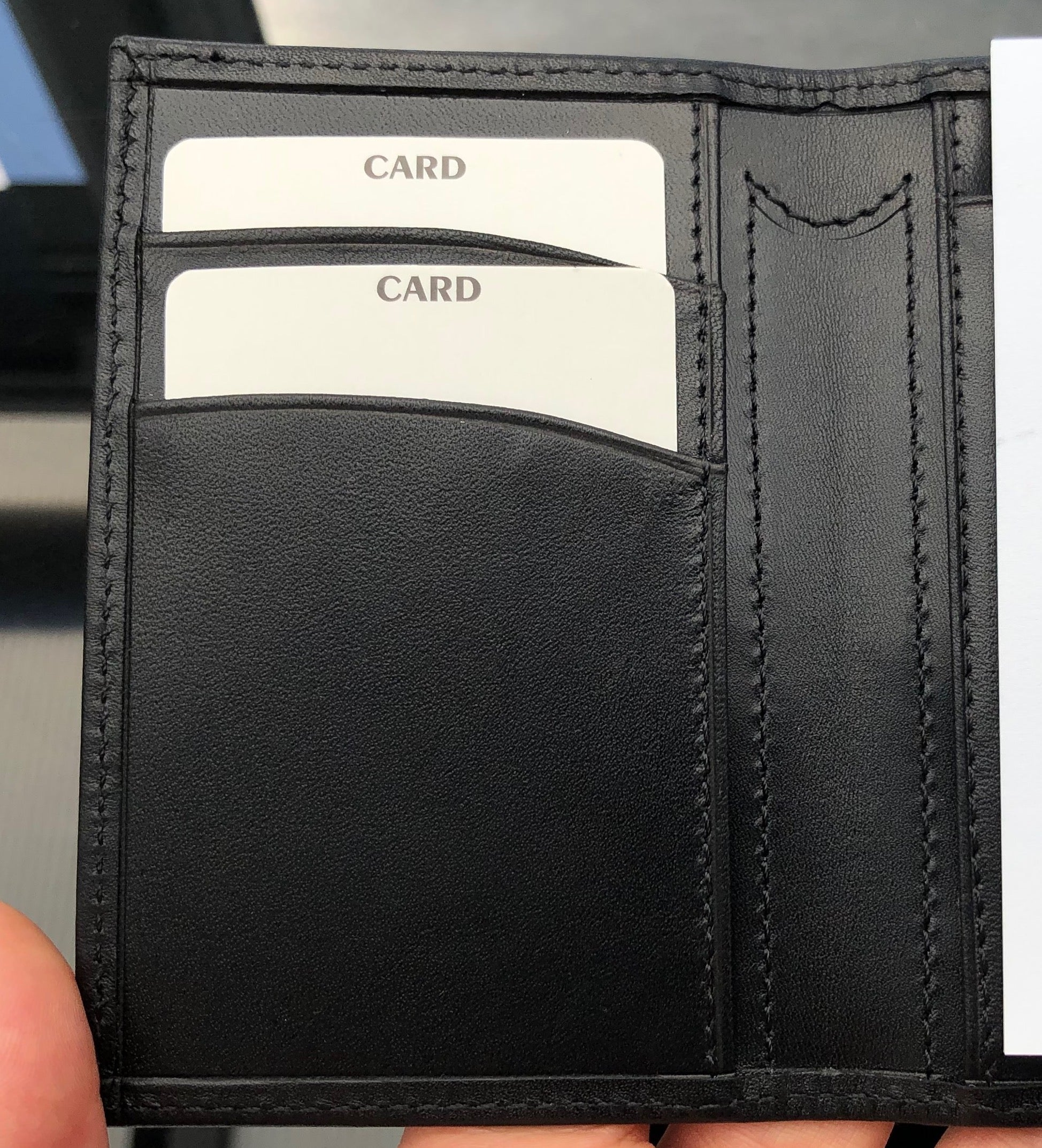 Business Capture Wallet - with Zebra Pen