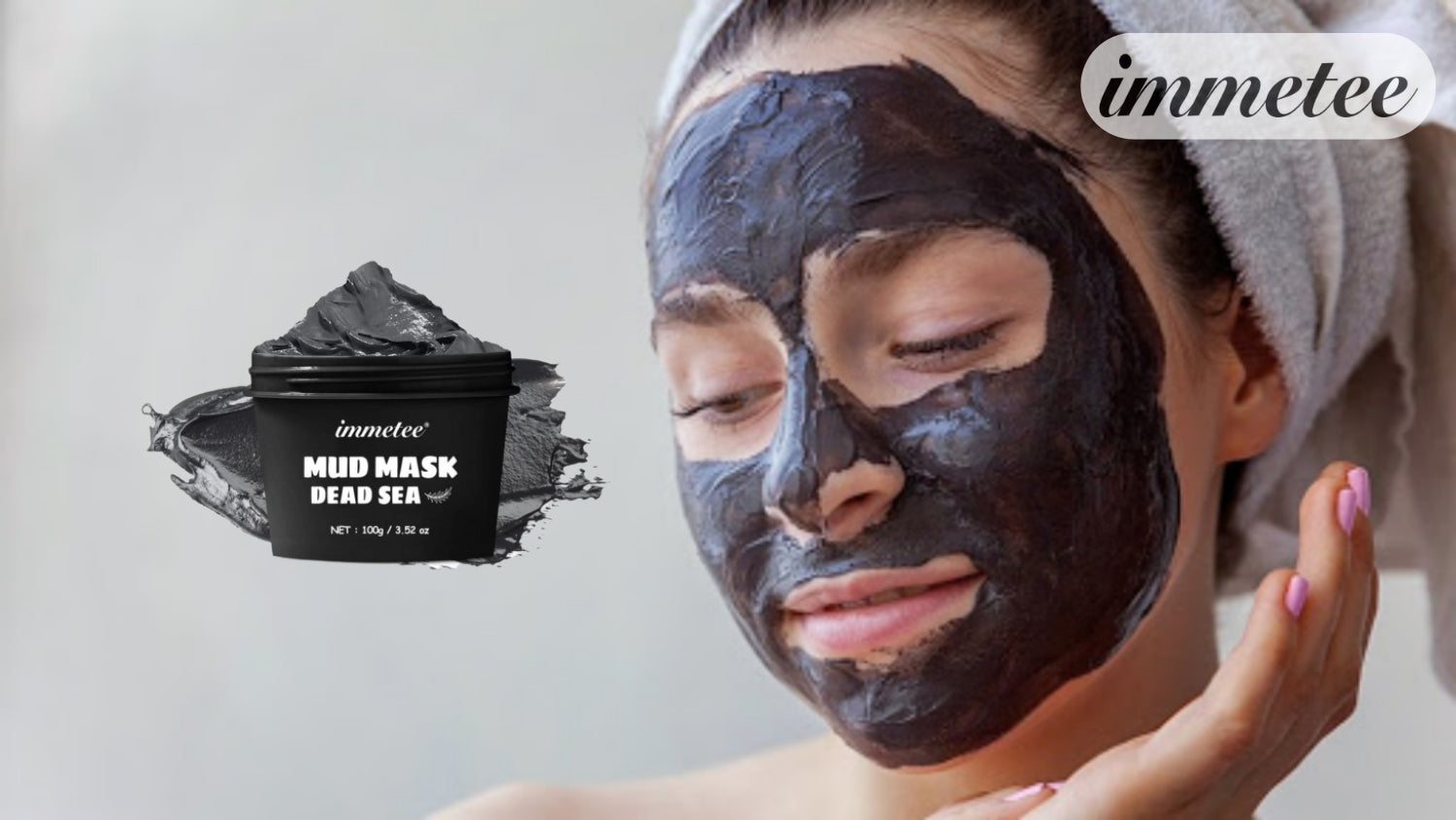 IMMETEE Face and body masks for dirt in the sea Dead pig mud masks - AurelijosSPA