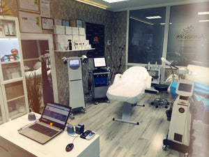 Professional cosmetology equipment HydraFacial apparatus Velashape Machine - AurelijosSPA
