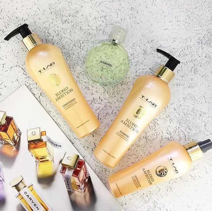 Blond Ambition - Set T-Lab Professional - AurelijosSPA