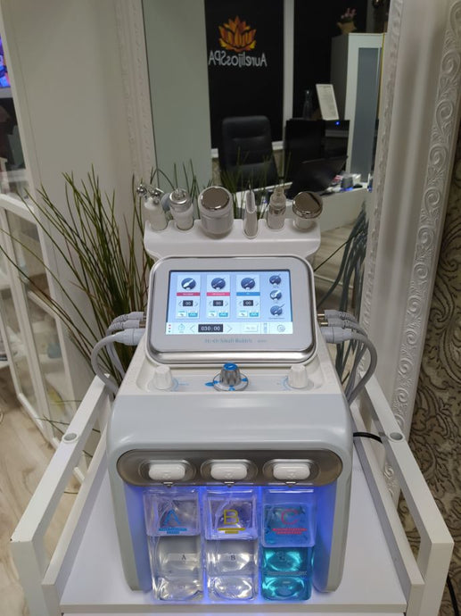 Hydrafacial machine 6in1 rental Cosmetology equipment rental - AurelijosSPA