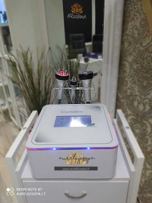 Cavitation Machine 3in1 Rental - AurelijosSPA