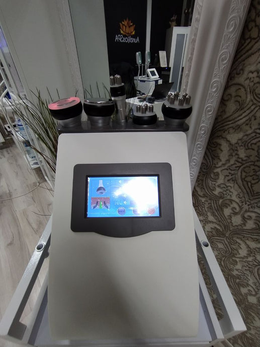 Cavitation Machines 5in1 Cosmetology equipment rental - AurelijosSPA