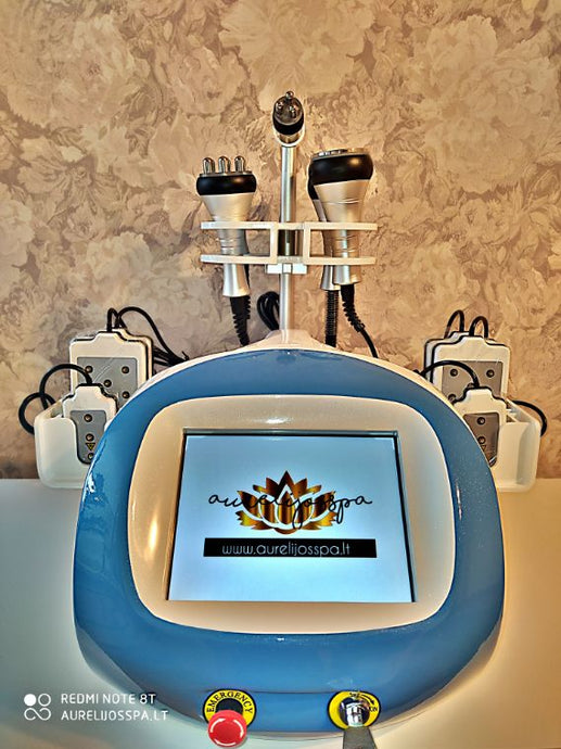 Cavitation Machine 6in1 Pro - AurelijosSPA
