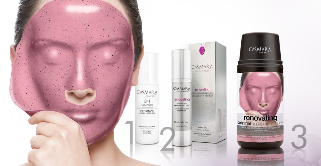 Renovating - Rinkinys 4in1 | Casmara - AurelijosSPA
