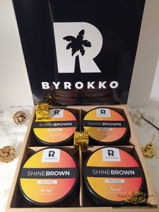 Shine Brown tan cream set-geschenk | BYROKKO - AurelijosSPA