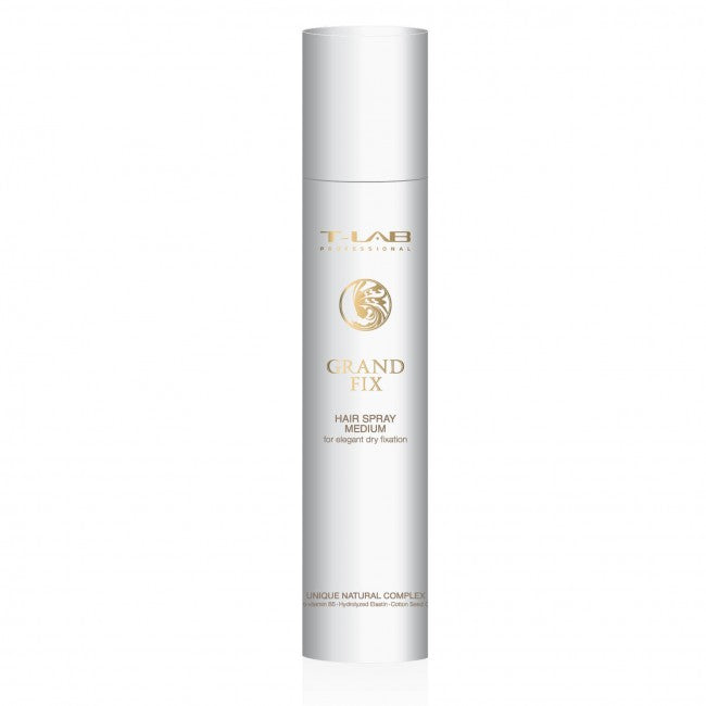 Grand Fix - Medium Fix Hairspray | T-Lab Professional - AurelijosSPA