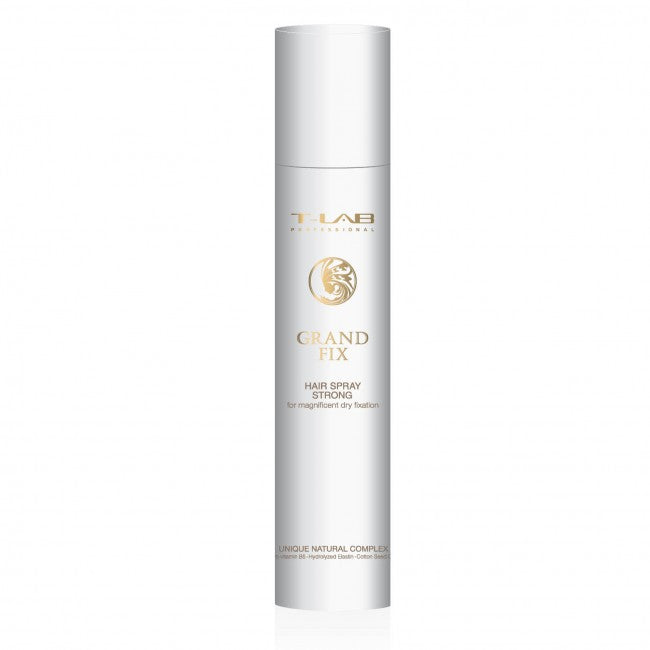 Grand Fix - Strong Fixation Hairspray | T-Lab Professional - AurelijosSPA