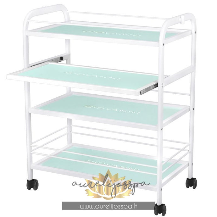 Cosmetology table GIOVANNI - Cosmetic trolley - AurelijosSPA