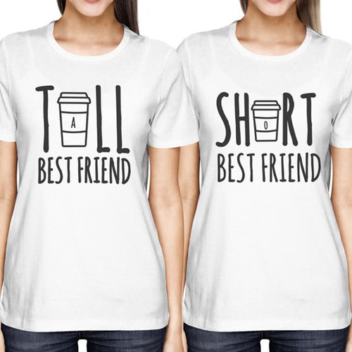 Cute Tall/Short Best Friend T-Shirts