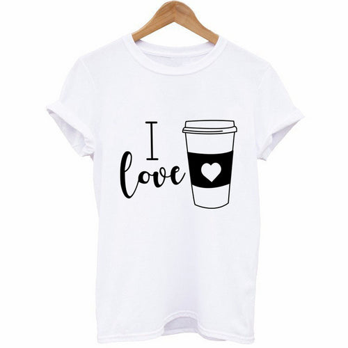 I Love Coffee Women's Tee