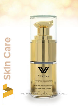 Gold Infused Collagen crème yeux raffermissant