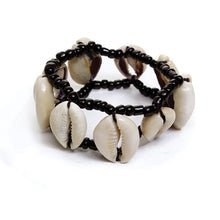 Load image into Gallery viewer, Cowry Shell Bracelet