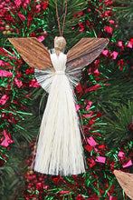 Load image into Gallery viewer, Holiday Ornament: Sisal & Banana Fiber Angel
