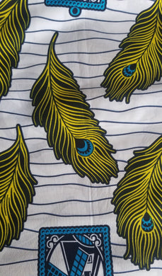 'Nku' Ankara Fabric (6 yds)