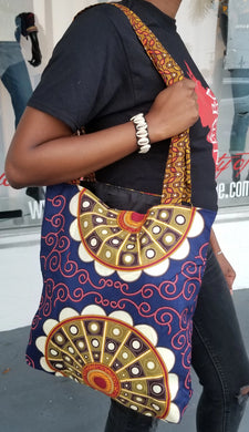 Ankara Print Tote Bag - Assorted
