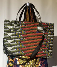 Load image into Gallery viewer, African Print Laptop Tote Bag