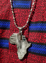 Load image into Gallery viewer, Unisex Silver Africa Chain