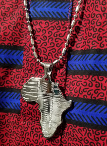 Silver Africa Chain
