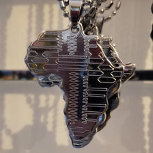 Load image into Gallery viewer, Silver Africa Chain