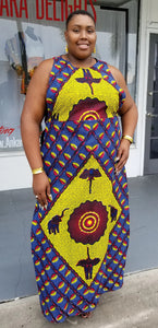 Ankara Queen Duster