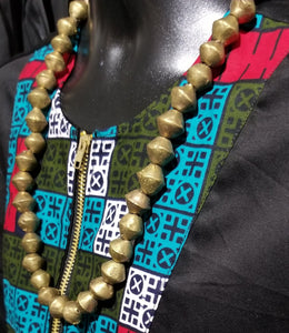 Nigerian Vintage XL Brass Necklaces