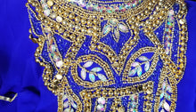Load image into Gallery viewer, Regal Hand Beaded Kaftan *Limited Special Order*