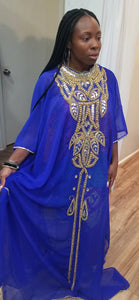 Regal Hand Beaded Kaftan