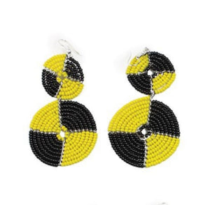 Double Circle Maasai Earrings
