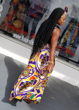 Load image into Gallery viewer, Mandala Print Maxi Skirt