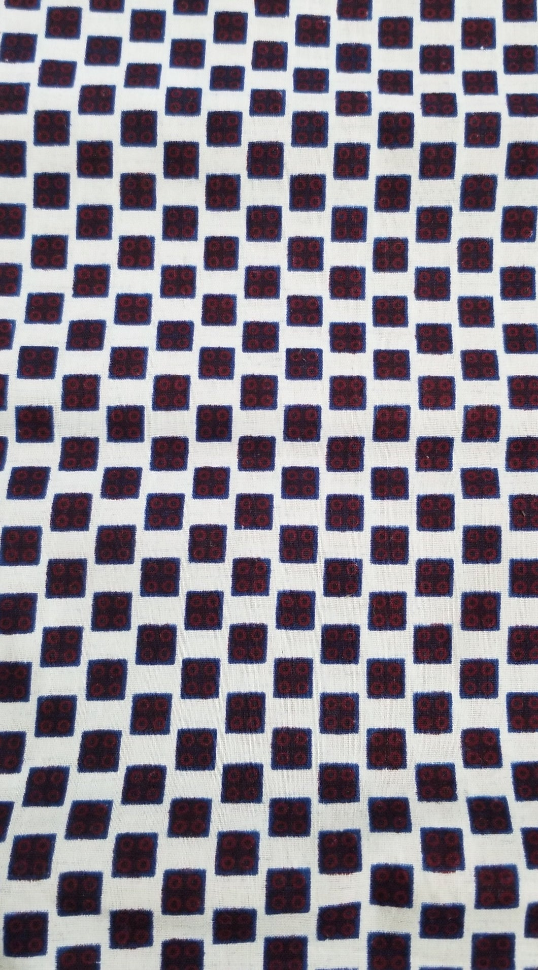 Checkerboard Ankara Fabric (2 yds)