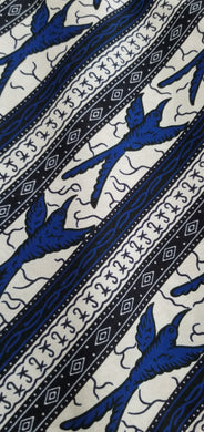 Royal Bluebird Ankara Fabric (2 yds)