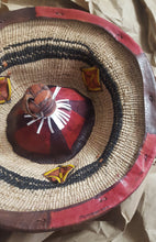 Load image into Gallery viewer, Unisex Fulani Straw Hat (Pre-Order)