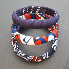 Load image into Gallery viewer, Kitenge (Ankara) Bracelets (Sets of 3)