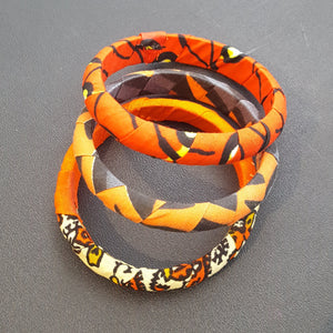 Kitenge (Ankara) Bracelets (Sets of 3)