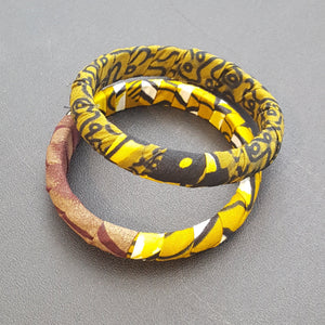 Ankara Bracelets (Sets of 2)