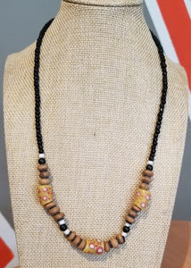 Unisex Trade Bead Necklace