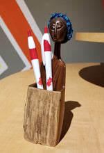 Load image into Gallery viewer, Mozambican Lady Pencil Holder Cup