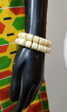 Load image into Gallery viewer, Nigerian Faux Coral Bead Bracelet Sets
