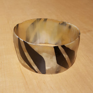Senegalese Wide Horn Bangle