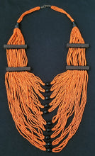 Load image into Gallery viewer, Fringe Drape Maasai Neckpiece