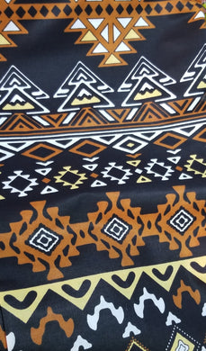 'Tribal Supreme' Batik Print Fabric (6 yds)