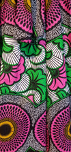 Load image into Gallery viewer, 'Pretty in Pink' Ankara Midi Skirt